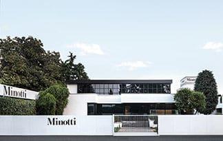 Фабрика MINOTTI - 70 лет